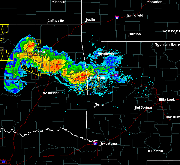 Radar Image for Severe Thunderstorms near Long, OK at 7/11/2020 10:15 PM CDT