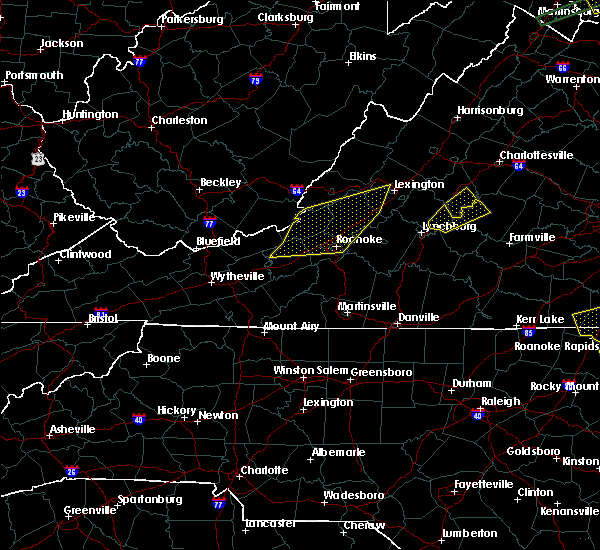 Radar Image for Severe Thunderstorms near Scottsville, VA at 6/30/2015 10:31 PM EDT