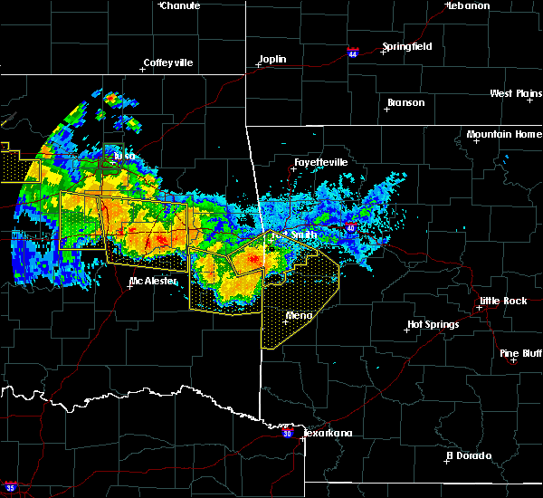 Radar Image for Severe Thunderstorms near Whitesboro, OK at 7/11/2020 10:56 PM CDT