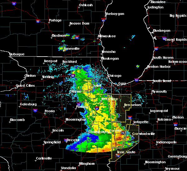 Radar Image for Severe Thunderstorms near Lake Village, IN at 7/11/2020 11:06 PM CDT