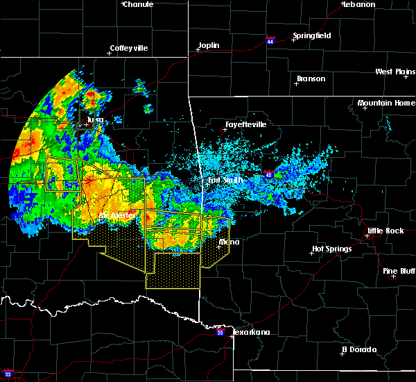 Radar Image for Severe Thunderstorms near Whitesboro, OK at 7/11/2020 11:29 PM CDT