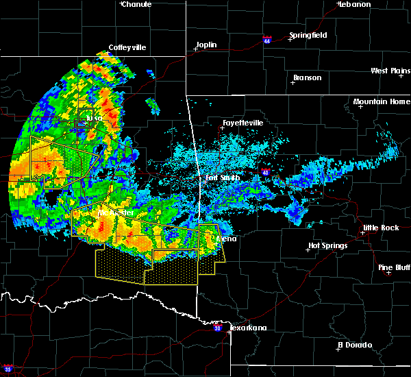Radar Image for Severe Thunderstorms near Whitesboro, OK at 7/11/2020 11:57 PM CDT