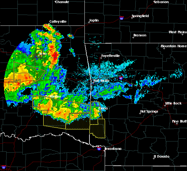 Radar Image for Severe Thunderstorms near Cove, AR at 7/12/2020 12:09 AM CDT