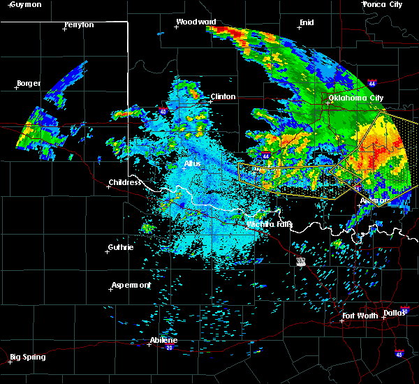 Radar Image for Severe Thunderstorms near Loco, OK at 7/12/2020 1:07 AM CDT