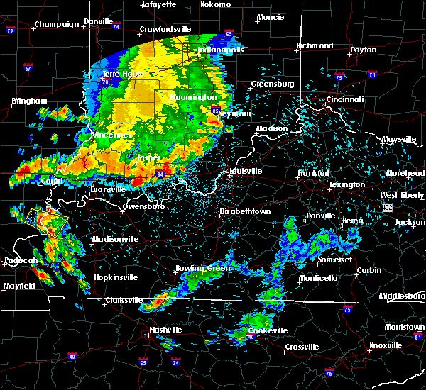 Radar Image for Severe Thunderstorms near Alton, IN at 7/12/2020 2:09 AM EDT