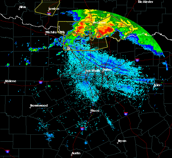 Radar Image for Severe Thunderstorms near Preston, TX at 7/12/2020 2:34 AM CDT