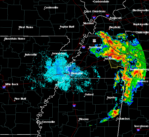 Radar Image for Severe Thunderstorms near Scotts Hill, TN at 7/12/2020 8:44 AM CDT