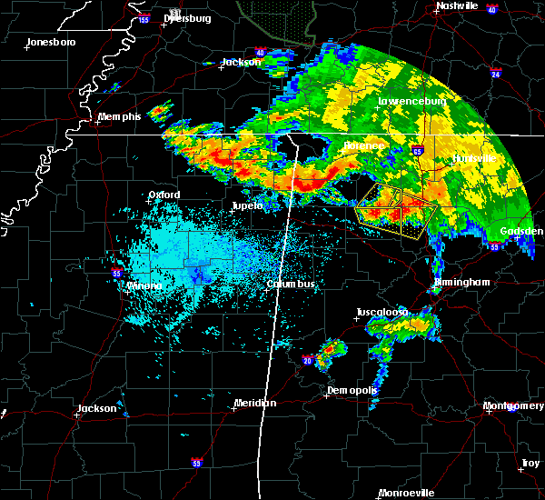 Radar Image for Severe Thunderstorms near Tuscumbia, AL at 7/12/2020 11:15 AM CDT