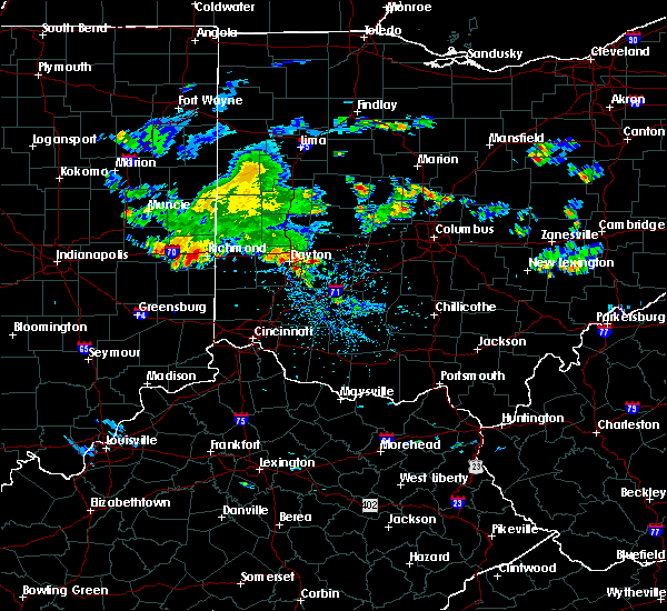 Radar Image for Severe Thunderstorms near Enon, OH at 7/12/2020 3:49 PM EDT