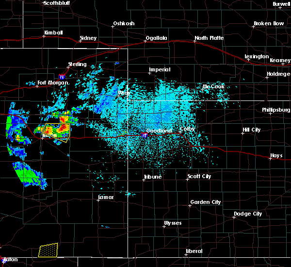 Radar Image for Severe Thunderstorms near Stratton, CO at 7/12/2020 3:09 PM MDT
