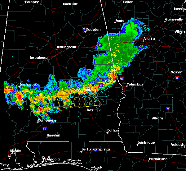 Radar Image for Severe Thunderstorms near Gordonville, AL at 7/12/2020 4:12 PM CDT