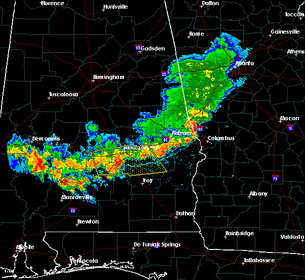 Radar Image for Severe Thunderstorms near Gordonville, AL at 7/12/2020 4:26 PM CDT