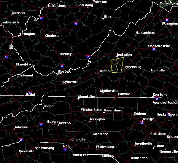 Radar Image for Severe Thunderstorms near Bedford, VA at 6/30/2015 11:37 PM EDT