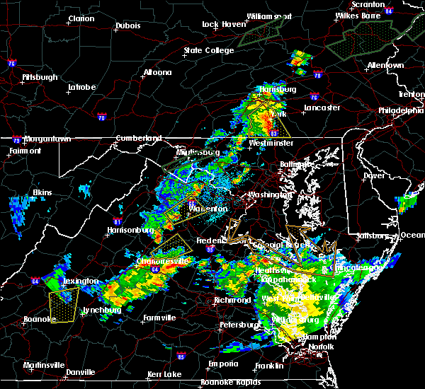 Radar Image for Severe Thunderstorms near Orange, VA at 6/30/2015 11:47 PM EDT