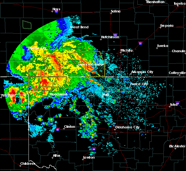 Radar Image for Severe Thunderstorms near Bluff City, KS at 7/13/2020 1:59 AM CDT