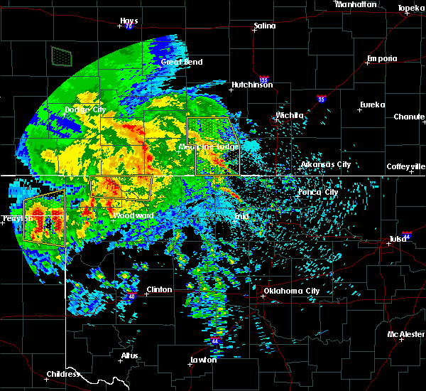 Radar Image for Severe Thunderstorms near Bluff City, KS at 7/13/2020 2:12 AM CDT