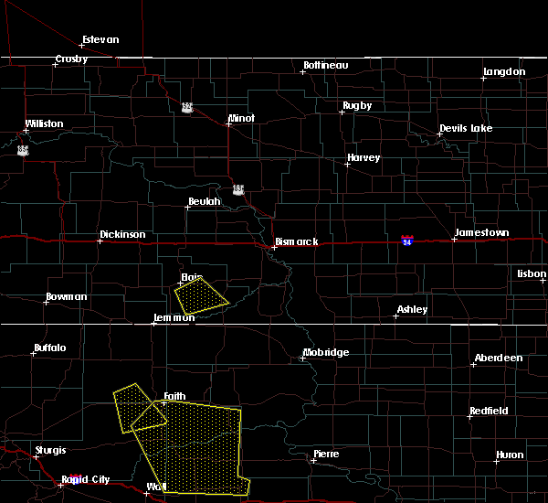 Radar Image for Severe Thunderstorms near Carson, ND at 6/30/2015 10:01 PM MDT