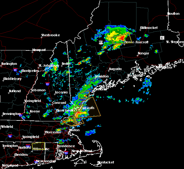 Radar Image for Severe Thunderstorms near Portland, ME at 7/13/2020 3:11 PM EDT