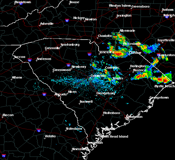 Radar Image for Severe Thunderstorms near Pageland, SC at 7/13/2020 4:06 PM EDT
