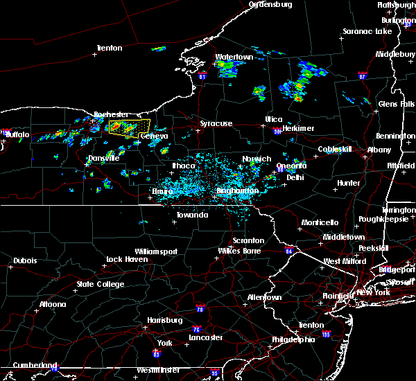 Radar Image for Severe Thunderstorms near Clyde, NY at 7/13/2020 4:17 PM EDT