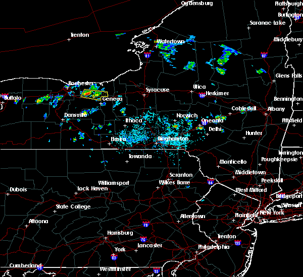 Radar Image for Severe Thunderstorms near Clyde, NY at 7/13/2020 4:33 PM EDT
