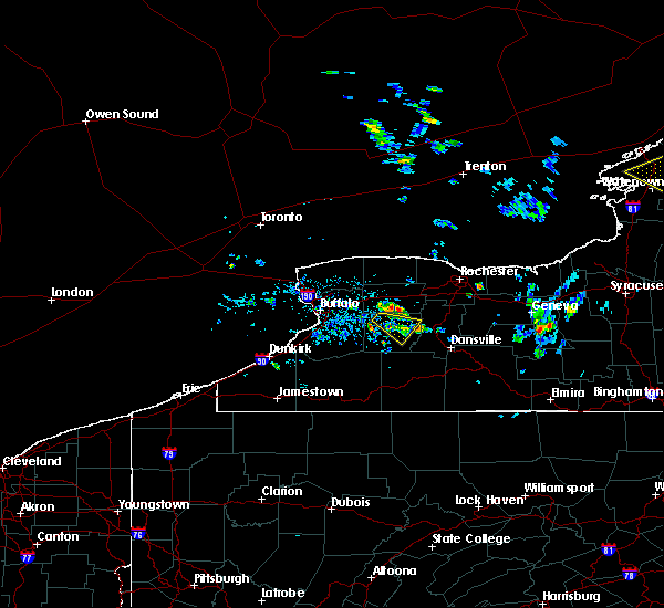 Radar Image for Severe Thunderstorms near Greigsville, NY at 7/13/2020 5:54 PM EDT
