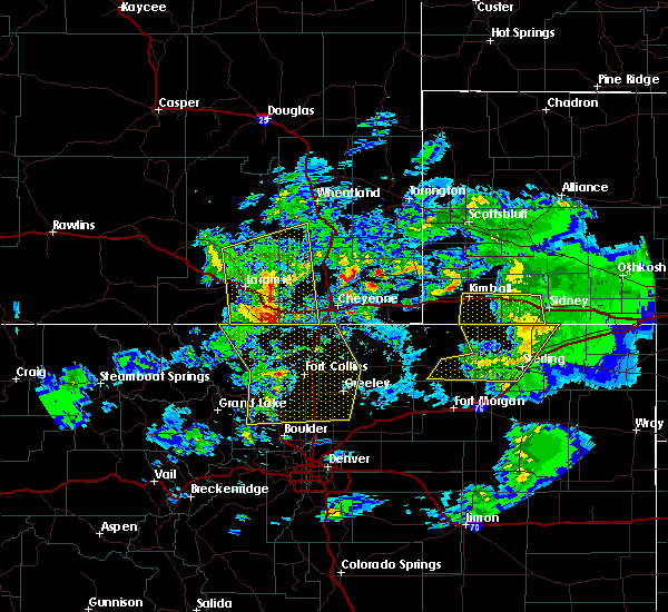 Radar Image for Severe Thunderstorms near Dix, NE at 7/13/2020 3:57 PM MDT