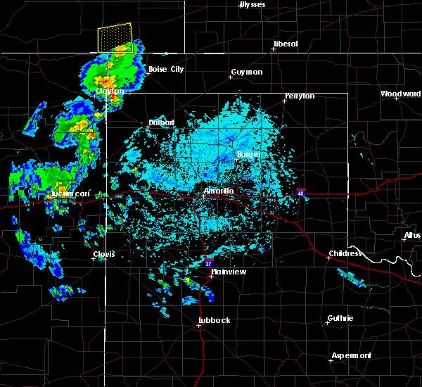 Radar Image for Severe Thunderstorms near Boise City, OK at 7/13/2020 5:42 PM CDT
