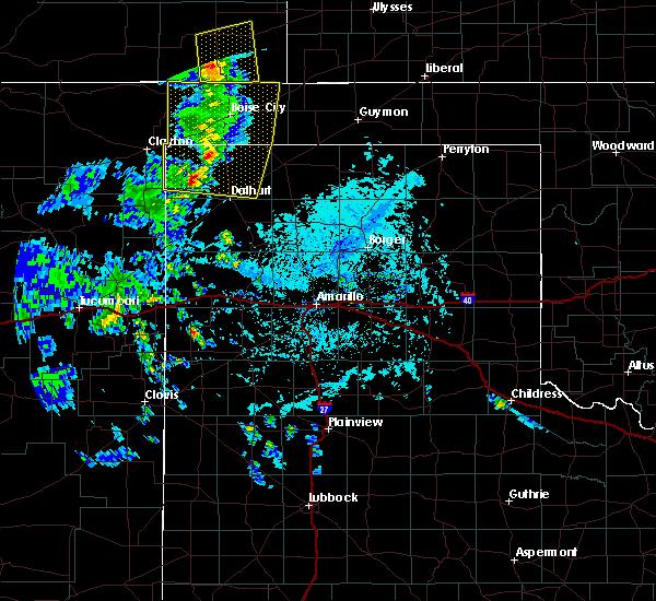 Radar Image for Severe Thunderstorms near Boise City, OK at 7/13/2020 6:17 PM CDT