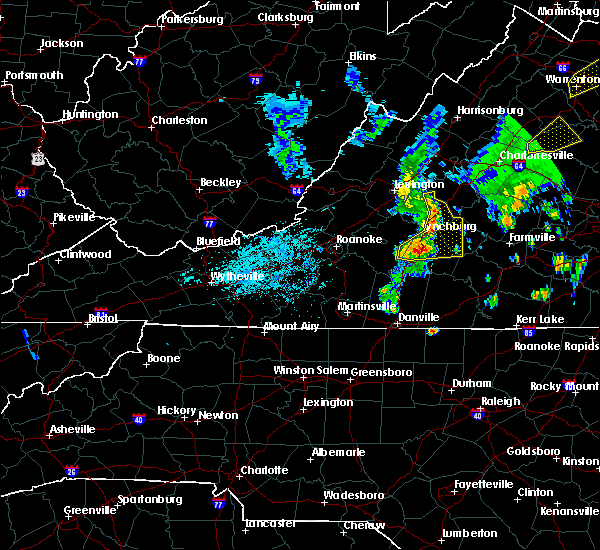 Radar Image for Severe Thunderstorms near Timberlake, VA at 7/1/2015 12:15 AM EDT
