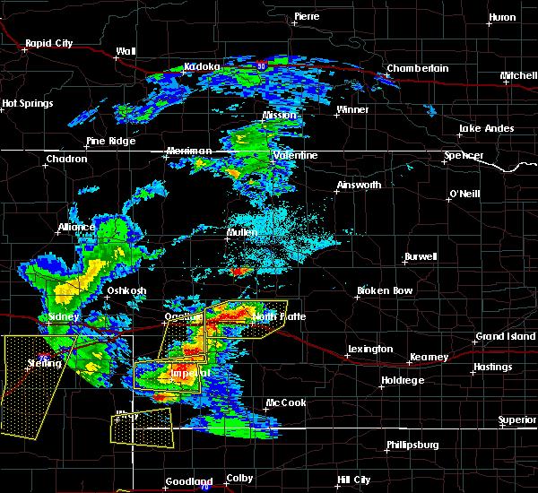 Radar Image for Severe Thunderstorms near Imperial, NE at 7/13/2020 8:01 PM CDT