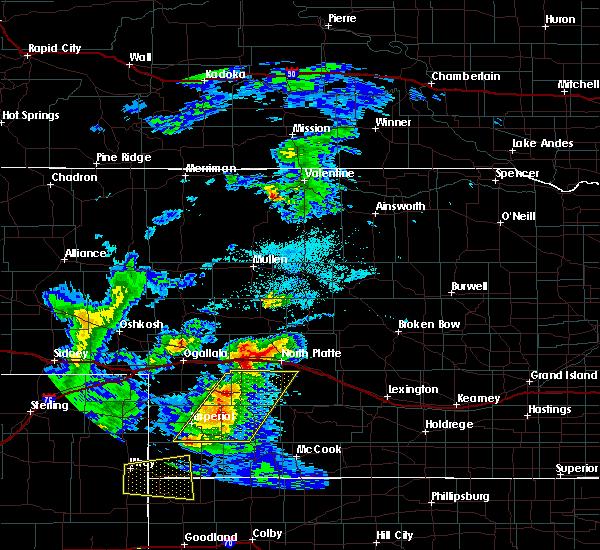 Radar Image for Severe Thunderstorms near Imperial, NE at 7/13/2020 8:15 PM CDT