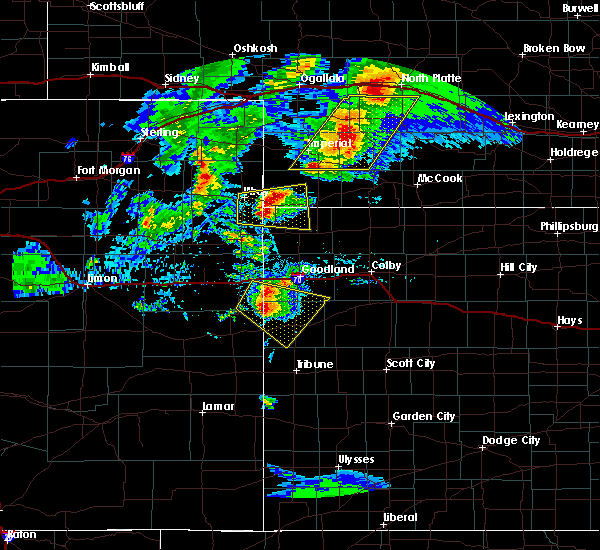 Radar Image for Severe Thunderstorms near Laird, CO at 7/13/2020 7:16 PM MDT
