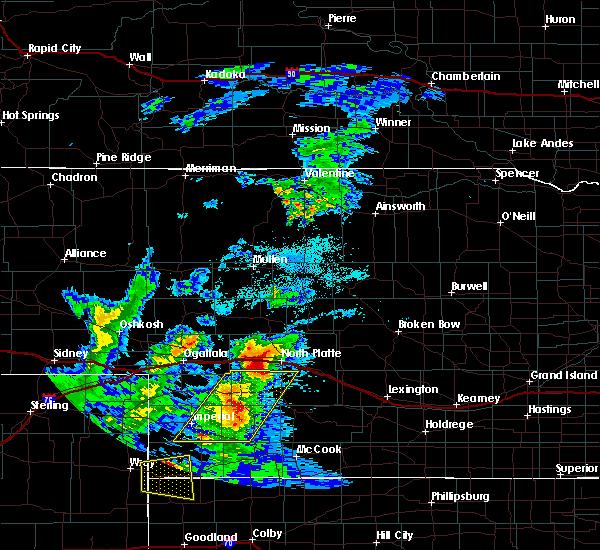 Radar Image for Severe Thunderstorms near Maxwell, NE at 7/13/2020 8:20 PM CDT