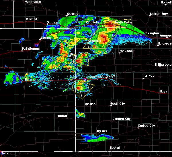 Radar Image for Severe Thunderstorms near Parks, NE at 7/13/2020 7:29 PM MDT