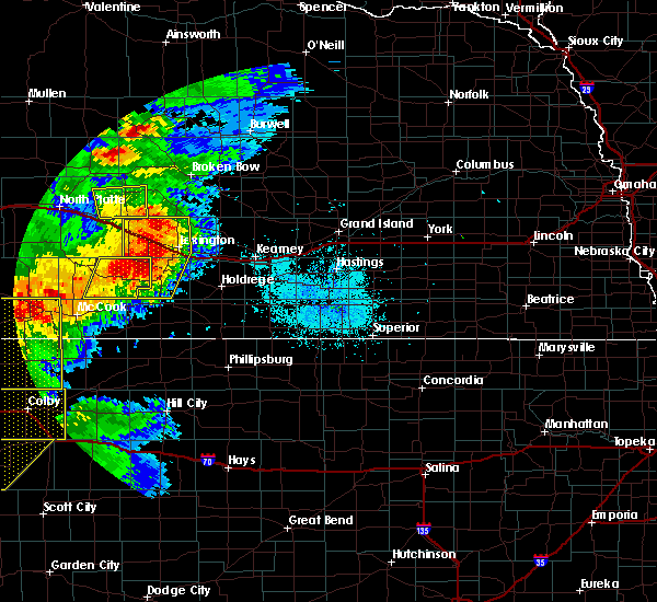 Radar Image for Severe Thunderstorms near Glenwood, NE at 7/13/2020 9:59 PM CDT