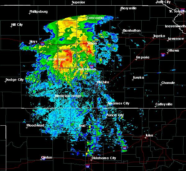Radar Image for Severe Thunderstorms near Willowbrook, KS at 7/14/2020 4:03 AM CDT