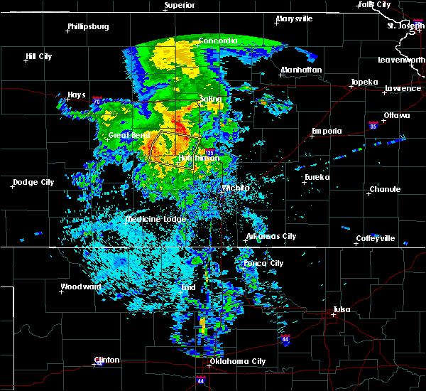 Radar Image for Severe Thunderstorms near Willowbrook, KS at 7/14/2020 4:26 AM CDT