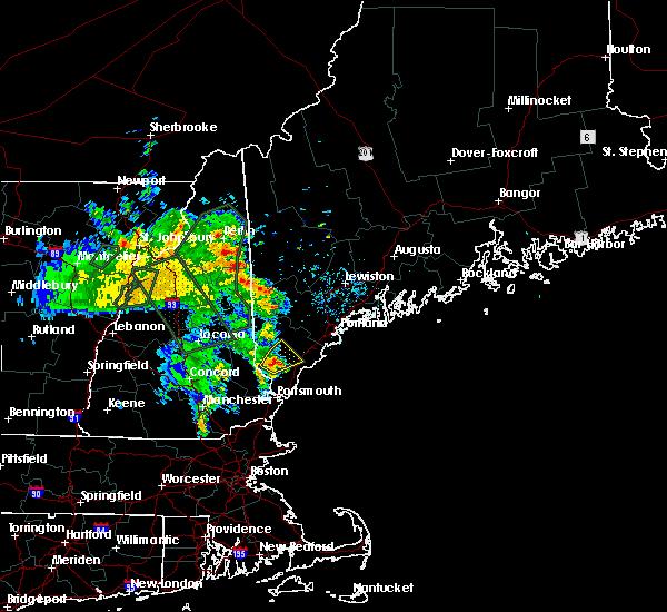 Radar Image for Severe Thunderstorms near Sanford, ME at 7/14/2020 8:48 AM EDT