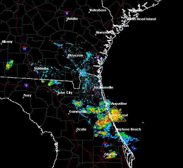 Radar Image for Severe Thunderstorms near Crescent City, FL at 7/14/2020 6:46 PM EDT