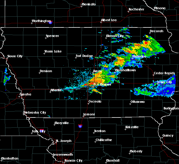 Radar Image for Severe Thunderstorms near Clive, IA at 7/14/2020 7:58 PM CDT