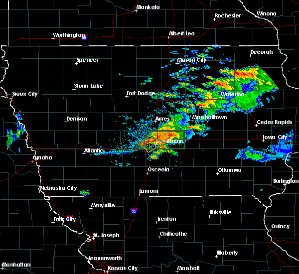Radar Image for Severe Thunderstorms near Grimes, IA at 7/14/2020 8:12 PM CDT