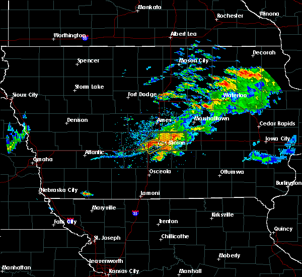 Radar Image for Severe Thunderstorms near Clive, IA at 7/14/2020 8:23 PM CDT