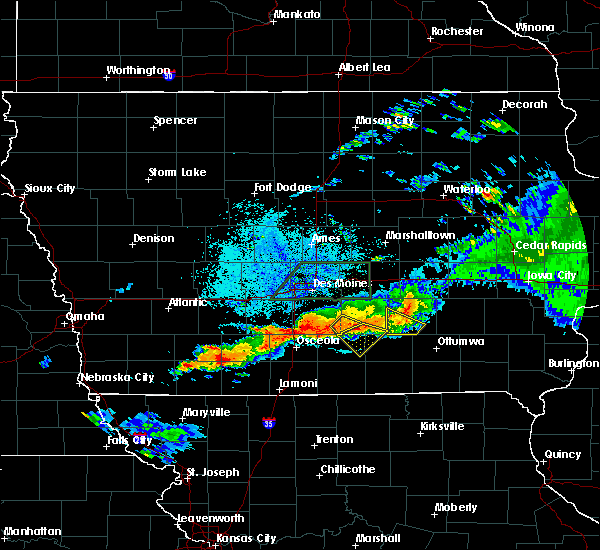 Radar Image for Severe Thunderstorms near Williamson, IA at 7/14/2020 10:04 PM CDT