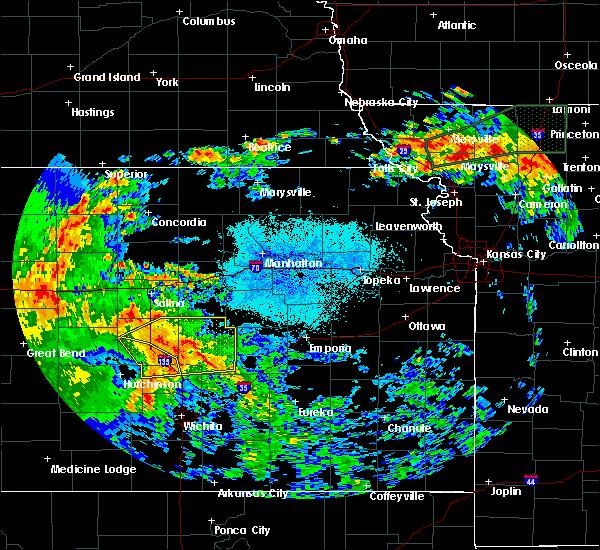 Radar Image for Severe Thunderstorms near Hope, KS at 7/15/2020 2:36 AM CDT