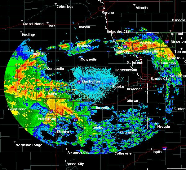 Radar Image for Severe Thunderstorms near Hope, KS at 7/15/2020 2:50 AM CDT