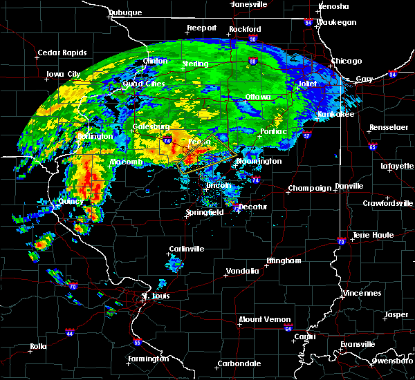 Radar Image for Severe Thunderstorms near East Peoria, IL at 7/15/2020 2:28 PM CDT