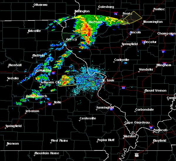 Radar Image for Severe Thunderstorms near Berger, MO at 7/15/2020 2:46 PM CDT
