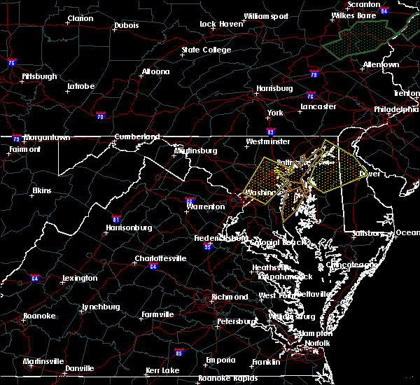 Radar Image for Severe Thunderstorms near South Kensington, MD at 7/1/2015 1:27 AM EDT