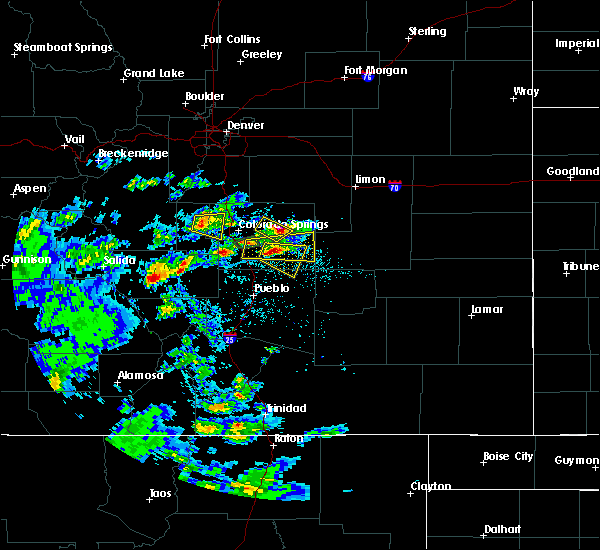 Radar Image for Severe Thunderstorms near Ramah, CO at 7/15/2020 2:39 PM MDT